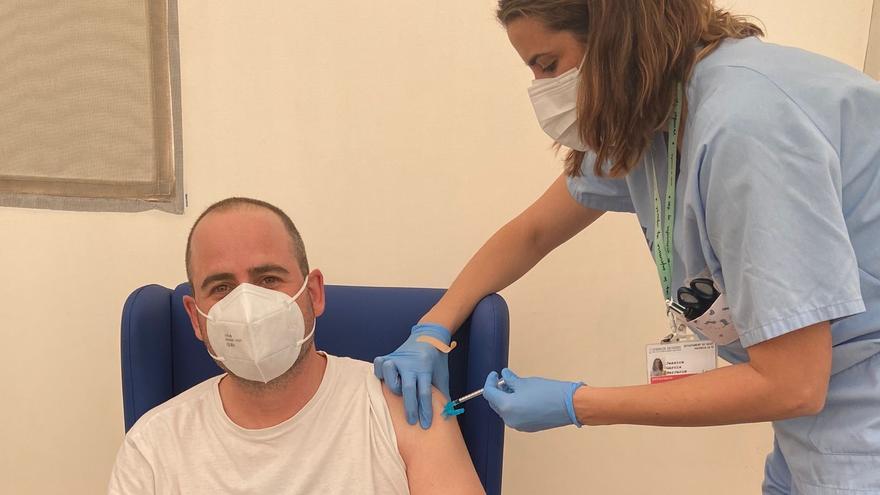 Empieza la vacunación de la Policía Local de Paiporta
