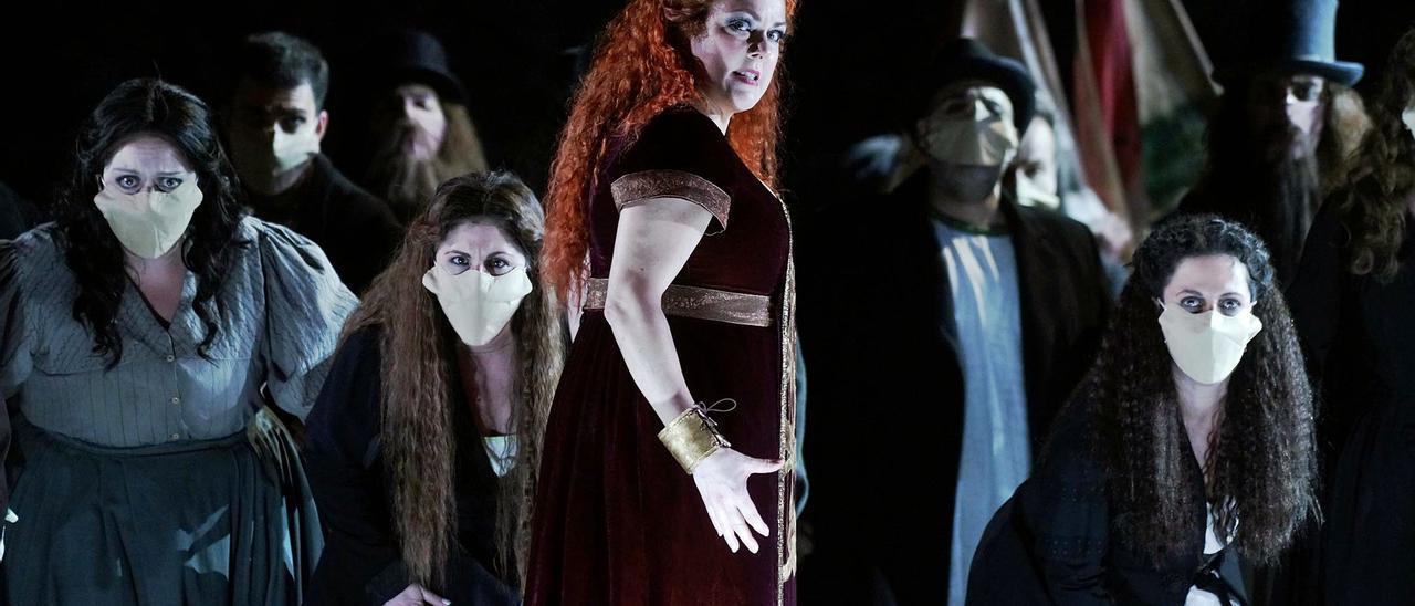 Estreno con  acento canario  en el Teatro Real