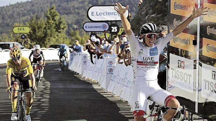 Mas corre al nivel de los mejores  y llega quinto al Grand Colombier