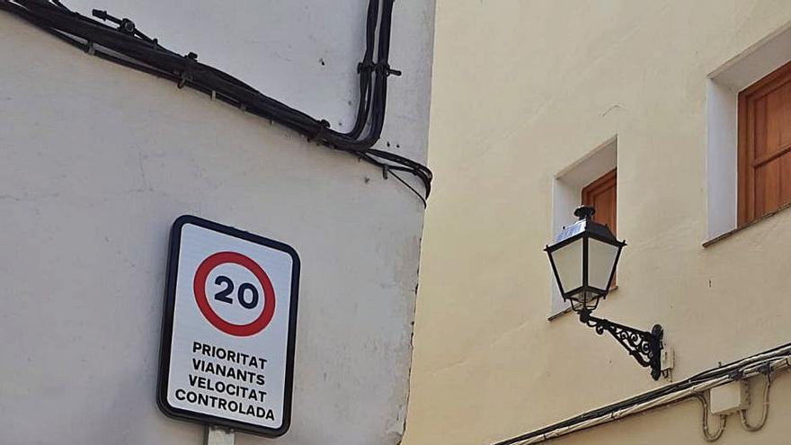 Algemesí limita a 20 km/h la velocidad en calles estrechas del casco antiguo