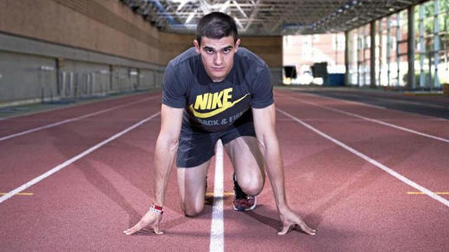 Bruno Hortelano vuelve a correr y a sentirse atleta