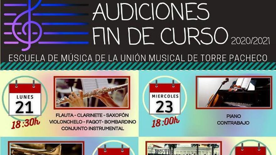 Concierto Banda Escuela de la Unión Musical de Torre Pacheco