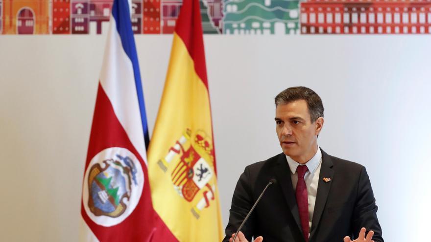 Sánchez afirma que España aspira a reforzar la cooperación con Costa Rica