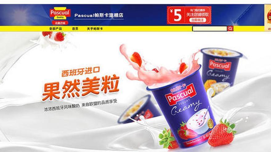 Pascual se alía con Alibaba Group para dar a conocer en China sus yogures