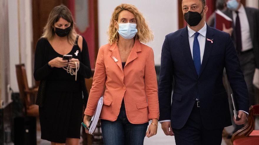La querella contra Meritxell Batet no fue consultada con Yolanda Díaz ni Garzón y será solo de Rodríguez