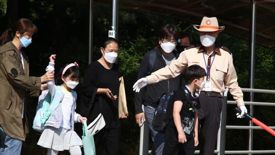 Corea del Sur contabiliza 40 nuevos contagios, la mayor cifra diaria en dos meses