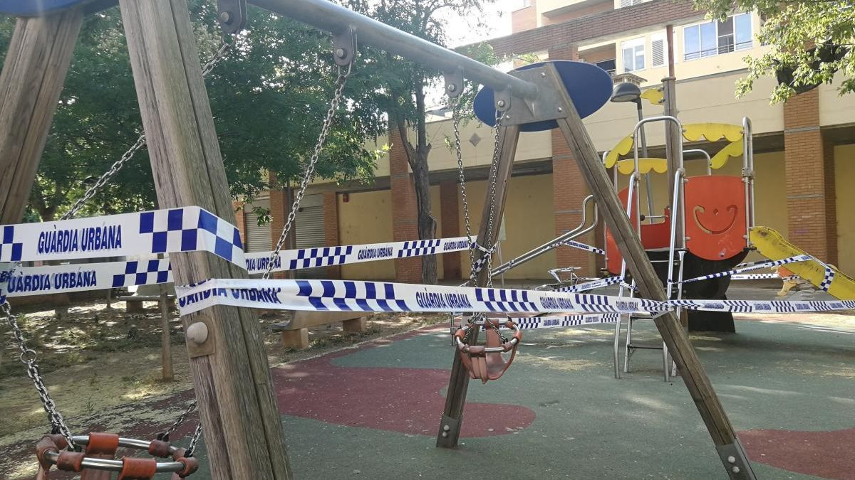 Reobrir els parc infantils i parc públics