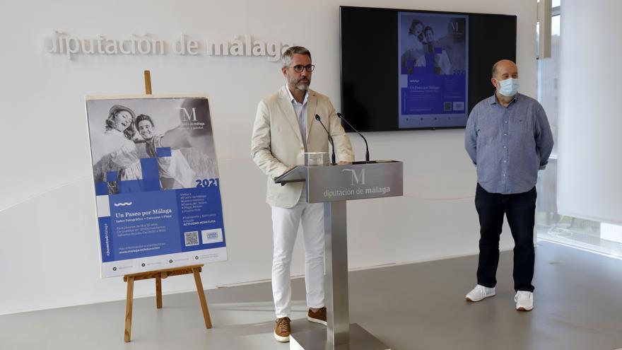 La Diputación organiza paseos fotográficos por Málaga como alternativa de ocio segura para los jóvenes
