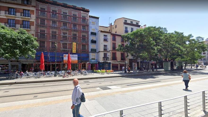 Detenido por agredir a su pareja en la pensión en la que conviven en Zaragoza