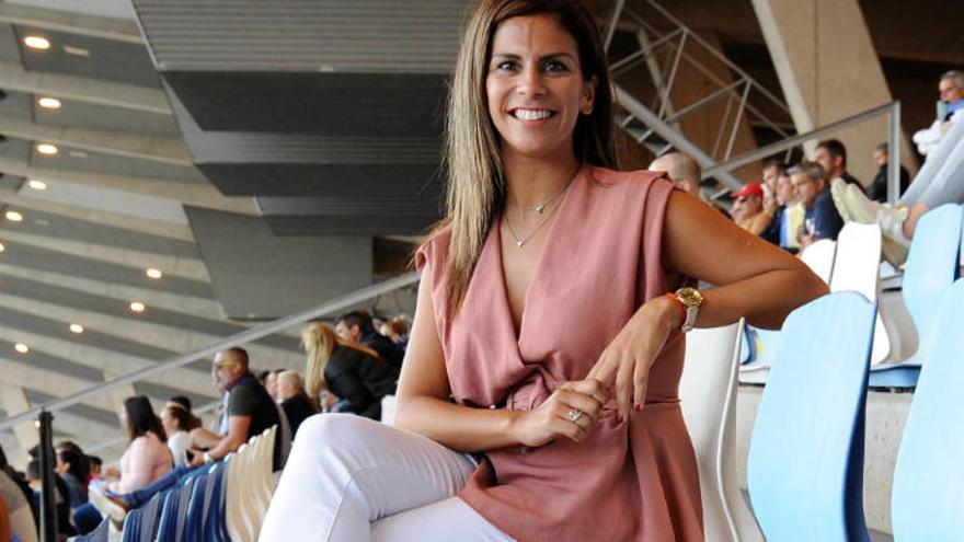 Laura Castro ya es directora de Deportes