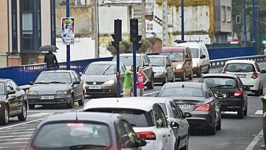 La carretera de Fonteculler, la segunda vía de la Xunta con más tráfico en la provincia