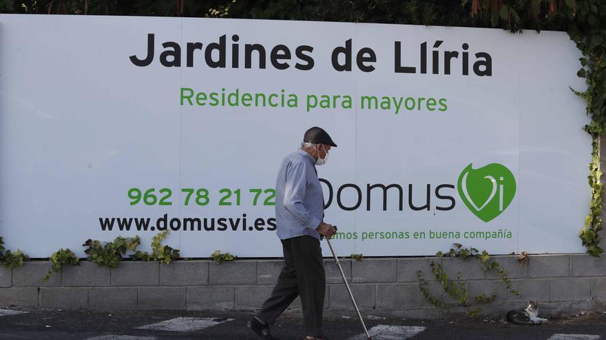 """Oltra apunta que Conselleria ha sancionado a la residencia DomusVi  """"hasta donde ha podido llegar"""""""