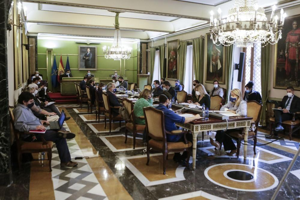Pleno Ayuntamiento de Oviedo