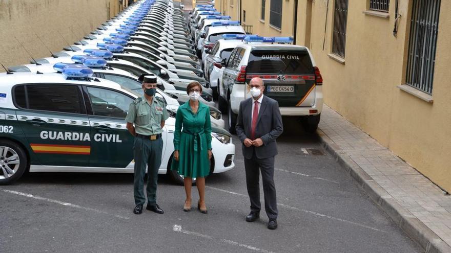 La Guardia Civil renueva con 97 vehículos su flota en Canarias