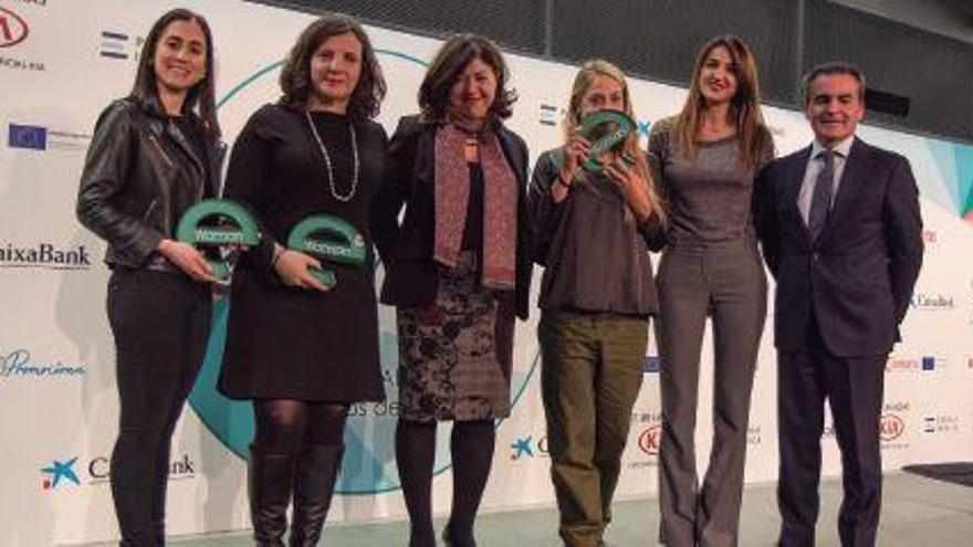 Los galardones de las mujeres emprendedoras e inspiradoras