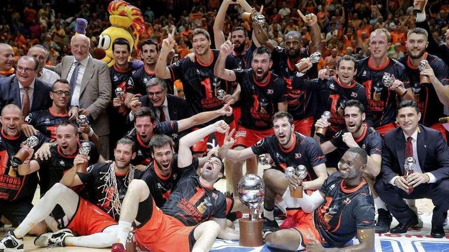 El Valencia Basket cumple su sueño