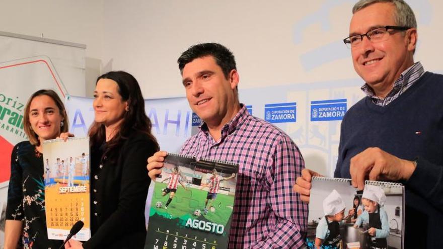 Medio millar de calendarios dan visibilidad al TDAH en Zamora