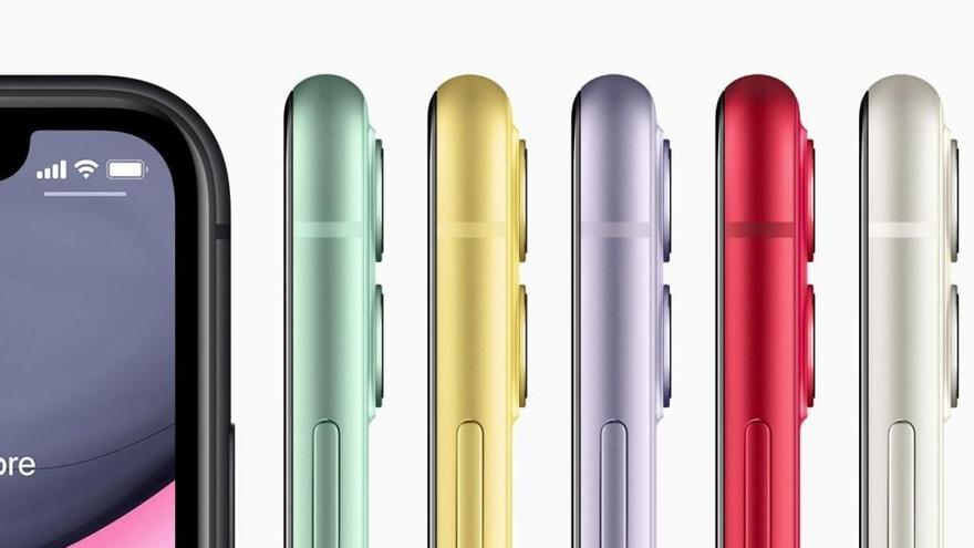 Seis de los diez 'smartphones' más vendidos en 2019 fueron iPhones