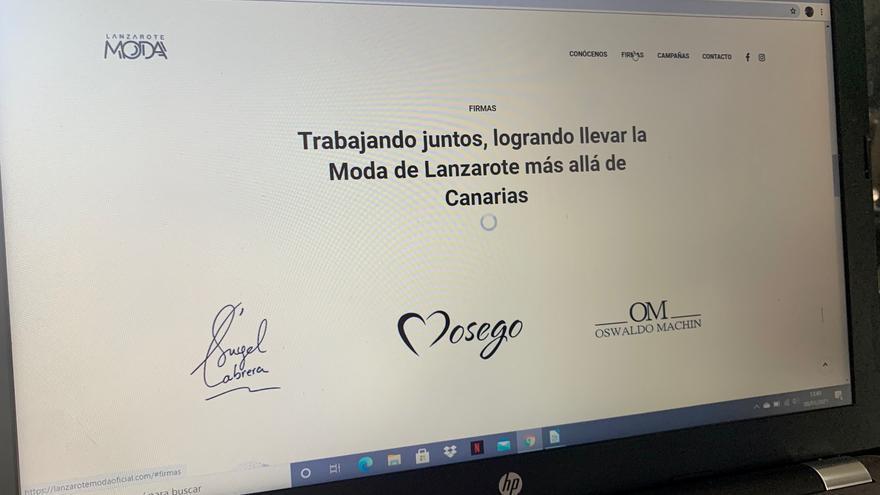 Escaparate online para los diseñadores de Lanzarote