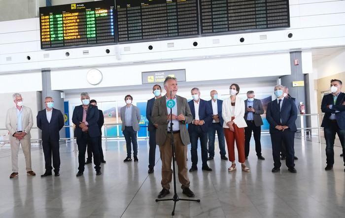 Torres recibe a visitantes en Fuerteventura