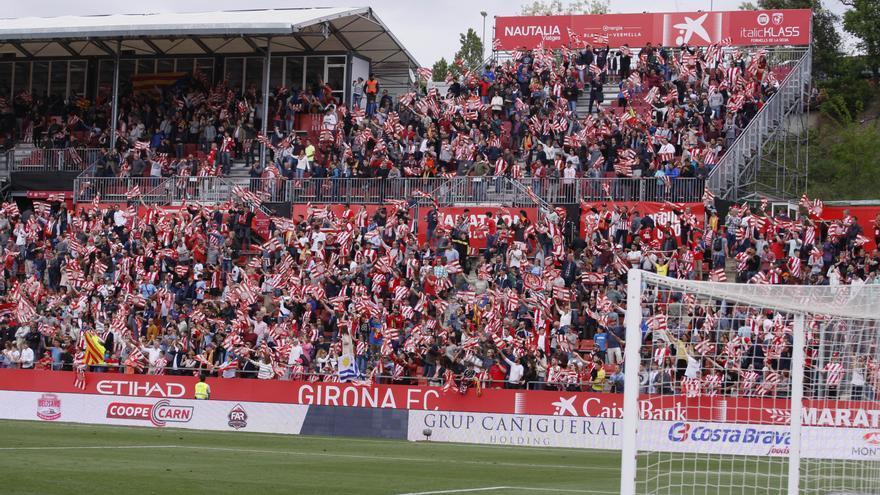 Girona - Osca, en directe