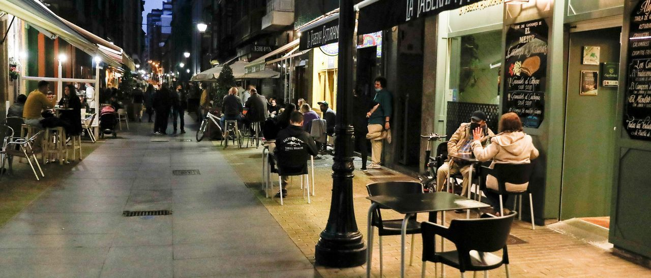 Terrazas en Gijón