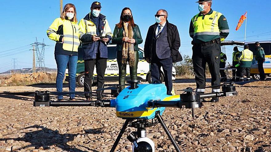 La DGT estrena el primer dron con capacidad sancionadora en la región