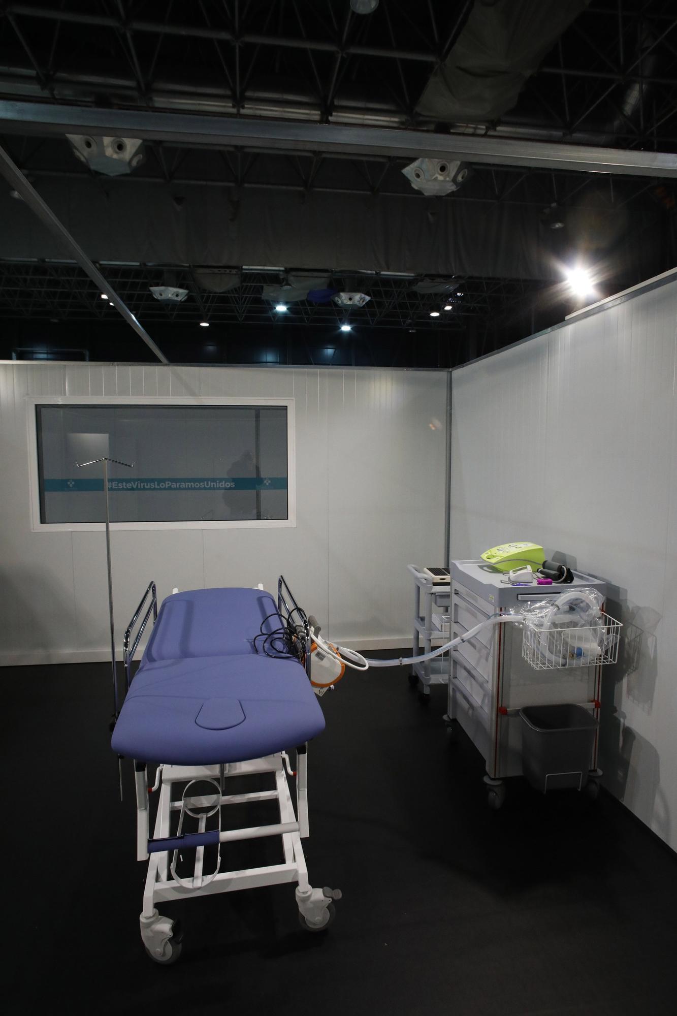 Todos los rincones del H144: el hospital de la Feria