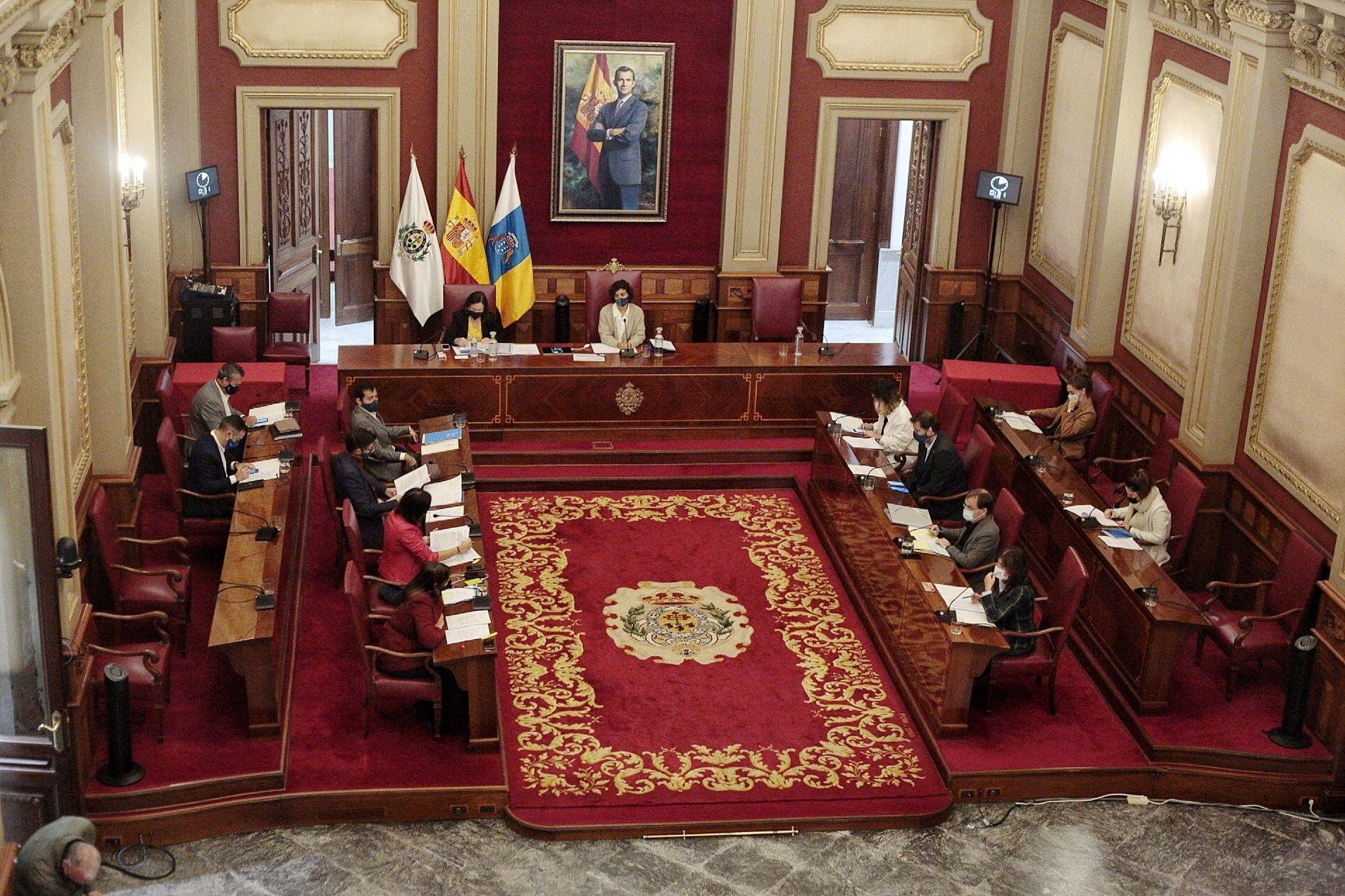 Comisión de control Santa Cruz 21/01/21