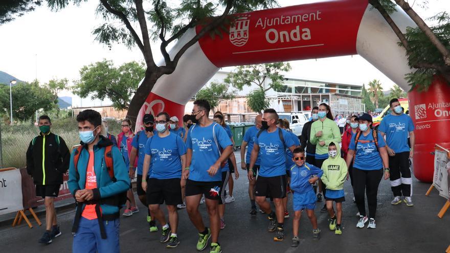 400 personas reivindican el deporte y la naturaleza en Onda