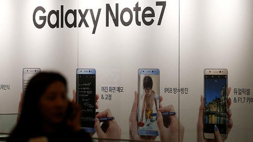 Samsung pide a dejar de usar el Galaxy Note 7