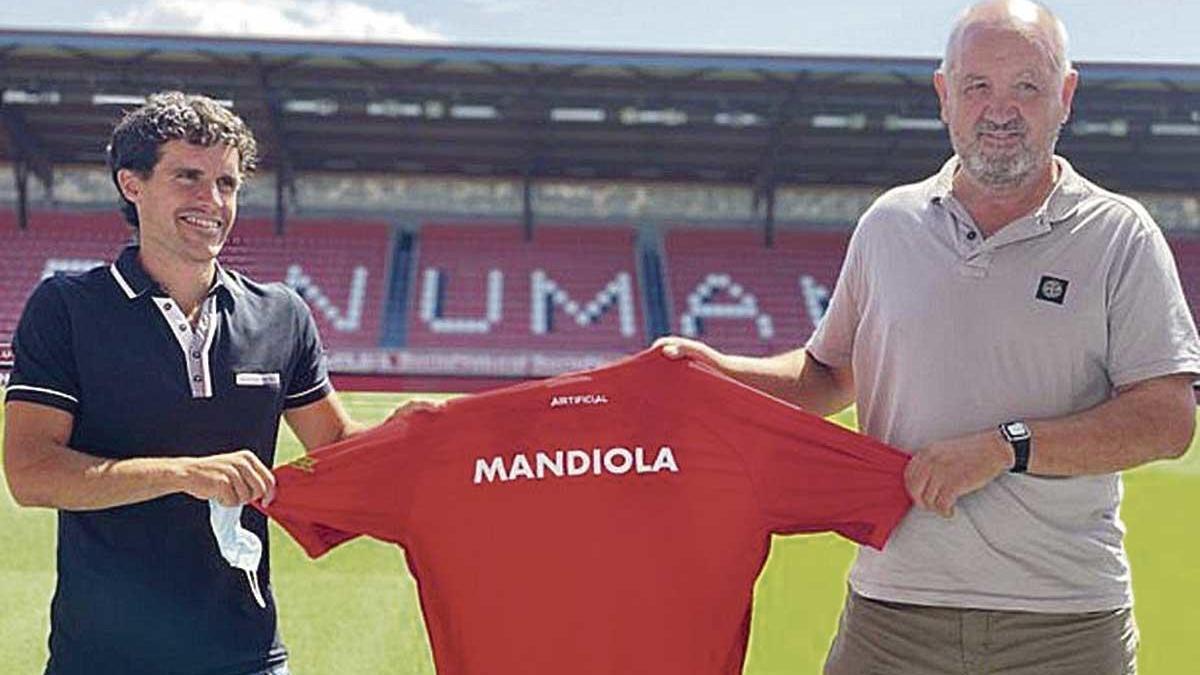 Mandiola, nuevo técnico del Numancia en Segunda B
