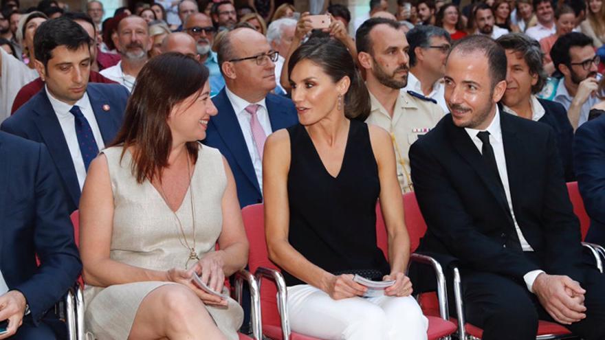 La reina Letizia inaugurará su agenda estival en la entrega de premios del Atlàntida Film Fest