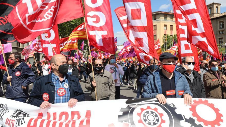 Los trabajadores regresan a las calles para recuperar sus derechos