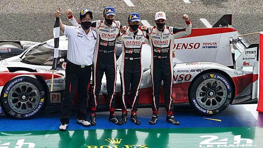 Toyota también gana sin Alonso las 24 Horas de Le Mans