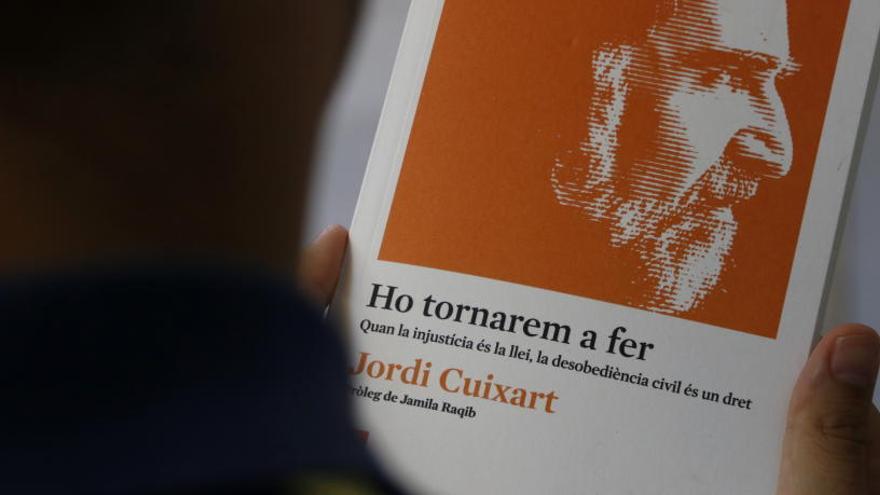 Cuixart fa un al·legat en defensa de la desobediència civil a «Ho tornarem a fer»