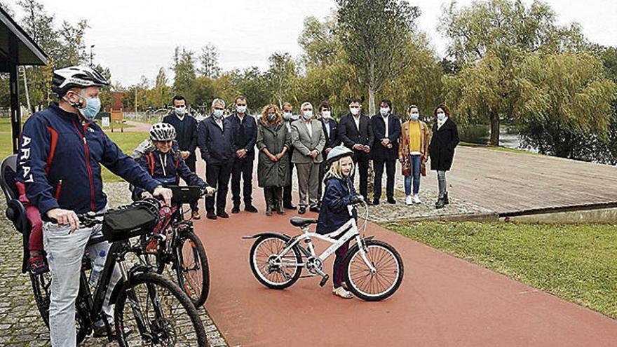 Bicicletas eléctricas para fomentar a mobilidade nas eurocidades do Miño