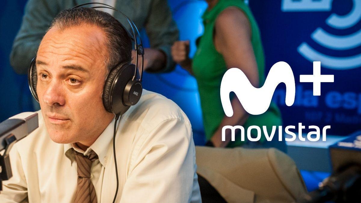 Javier Gutiérrez en una de las escenas de 'Reyes de la noche', la nueva serie original de Movistar+.