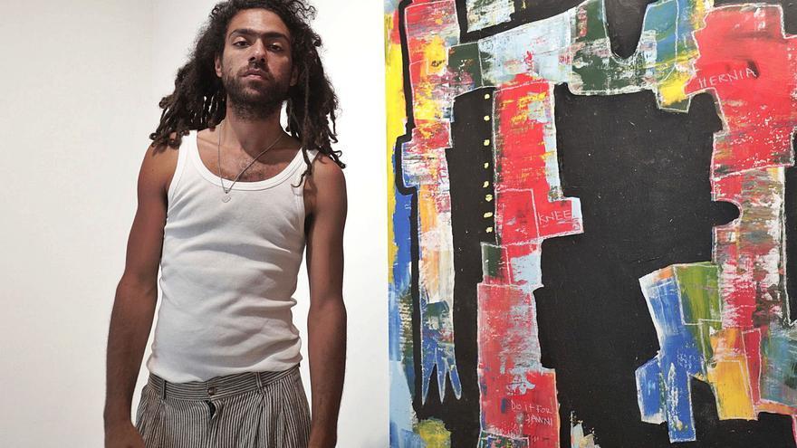 Noah Becker: «Mi padre  no entiende  de dónde  he sacado la    vena artística»
