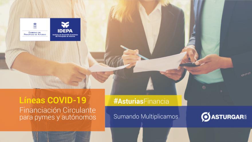 Asturgar SGR dota de liquidez a los autónomos y pymes asturianos afectados por el COVID-19 con una línea de avales de 10.000.000 euros