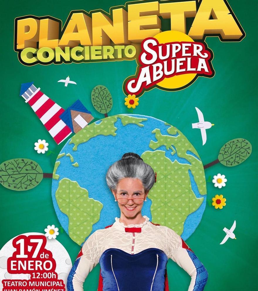 Planeta. Nuevo concierto Super Abuela