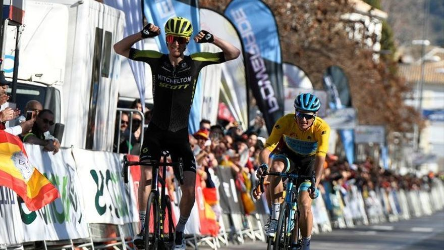 Haig vence en Granada y Fuglsang y llega con 14 segundos de ventaja a la última etapa