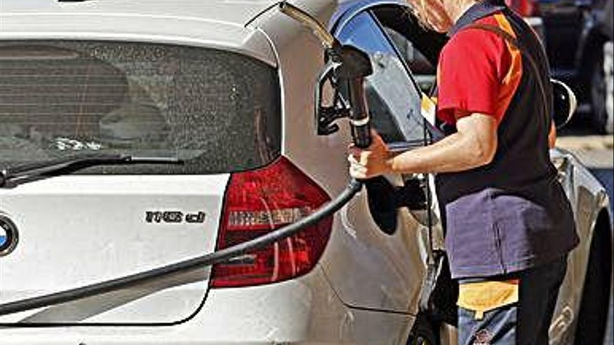 El combustible, con los precios más bajos desde el mes de marzo