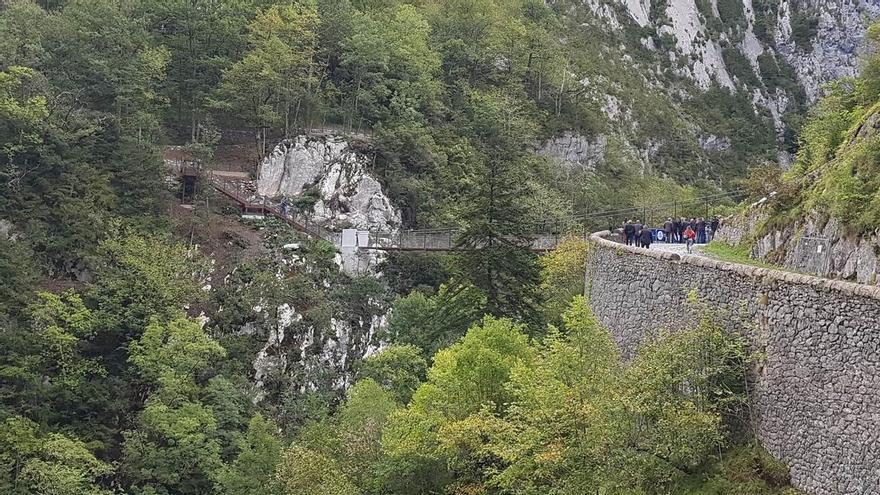La pasarela en el fuerte de Portalet servirá para fomentar el uso del Camino de Santiago por Aragón