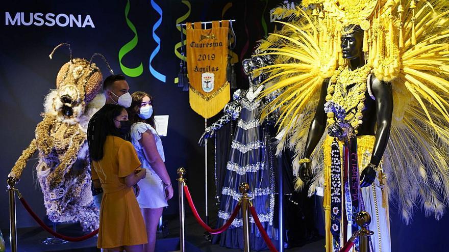 Águilas hace alarde de la más grande de sus fiestas con el Museo del Carnaval