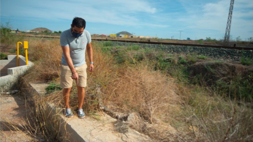Los vecinos de San Ginés piden un muro que evite nuevas inundaciones
