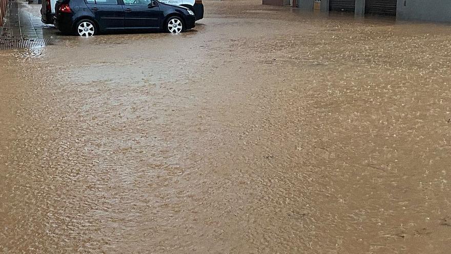 Alzira se inunda por segunda vez  en un mes