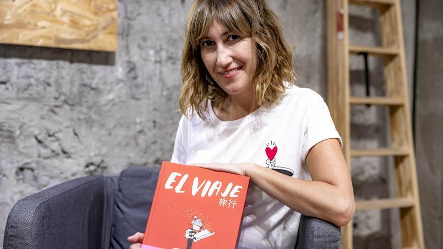 """Agustina Guerrero, en Palma: """"Las mujeres no nos permitimos atravesar el duelo del aborto como se merece y lo lloramos solas"""""""
