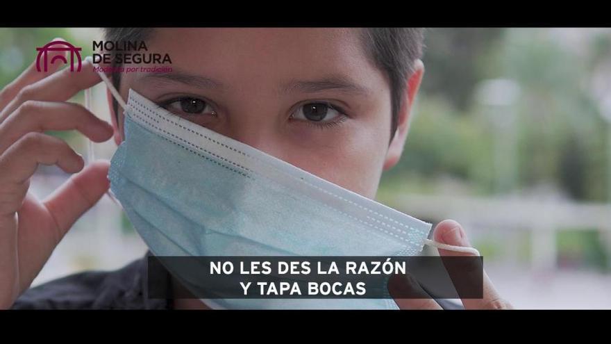 Molina defiende con un vídeo la responsabilidad de los jóvenes frente a la pandemia