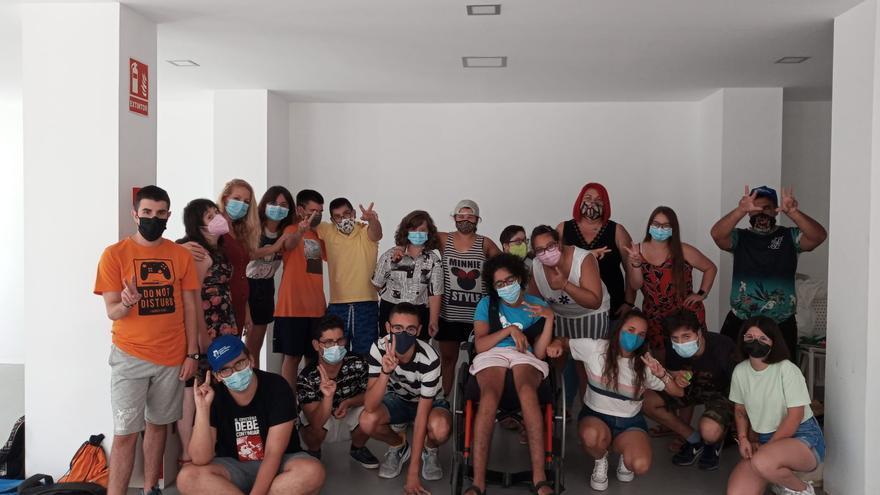 La Casa de Asociaciones despide a la Escuela de Verano de los niños con discapacidad de ANDA